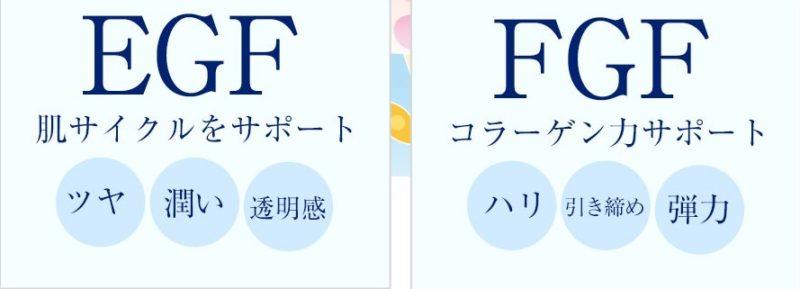 EGFとFGF