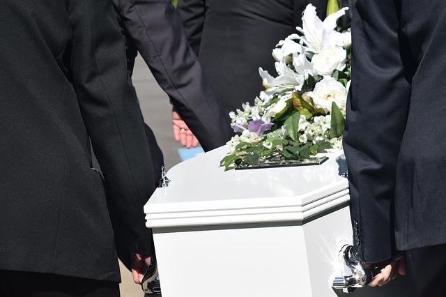 葬儀の様子
