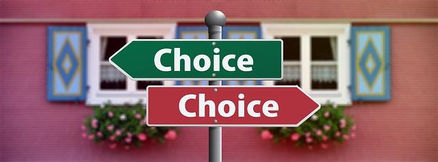 ギフトの選択