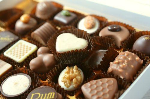 プレゼントのチョコレート
