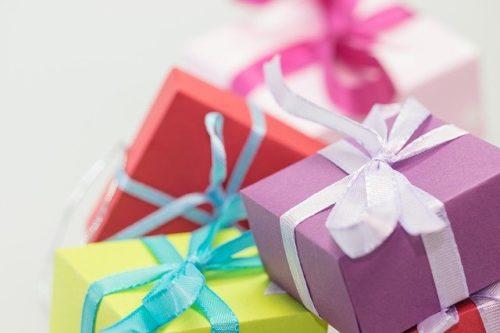 たくさんのプレゼントボックス