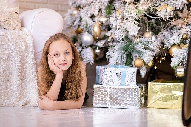 クリスマス 女の子