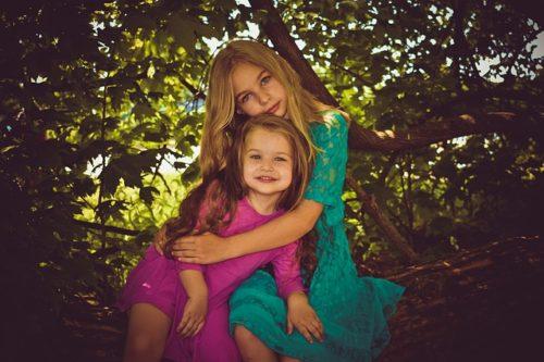 女の子 姉妹