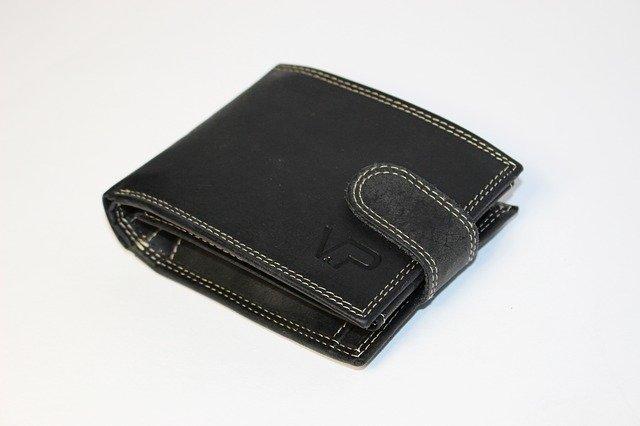男性用 二つ折り財布