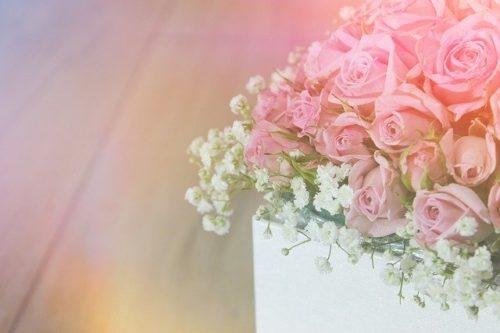フラワー・ピンクのパラ