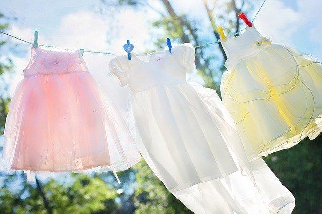 オススメの洗剤を使ってきれいになった洋服たち